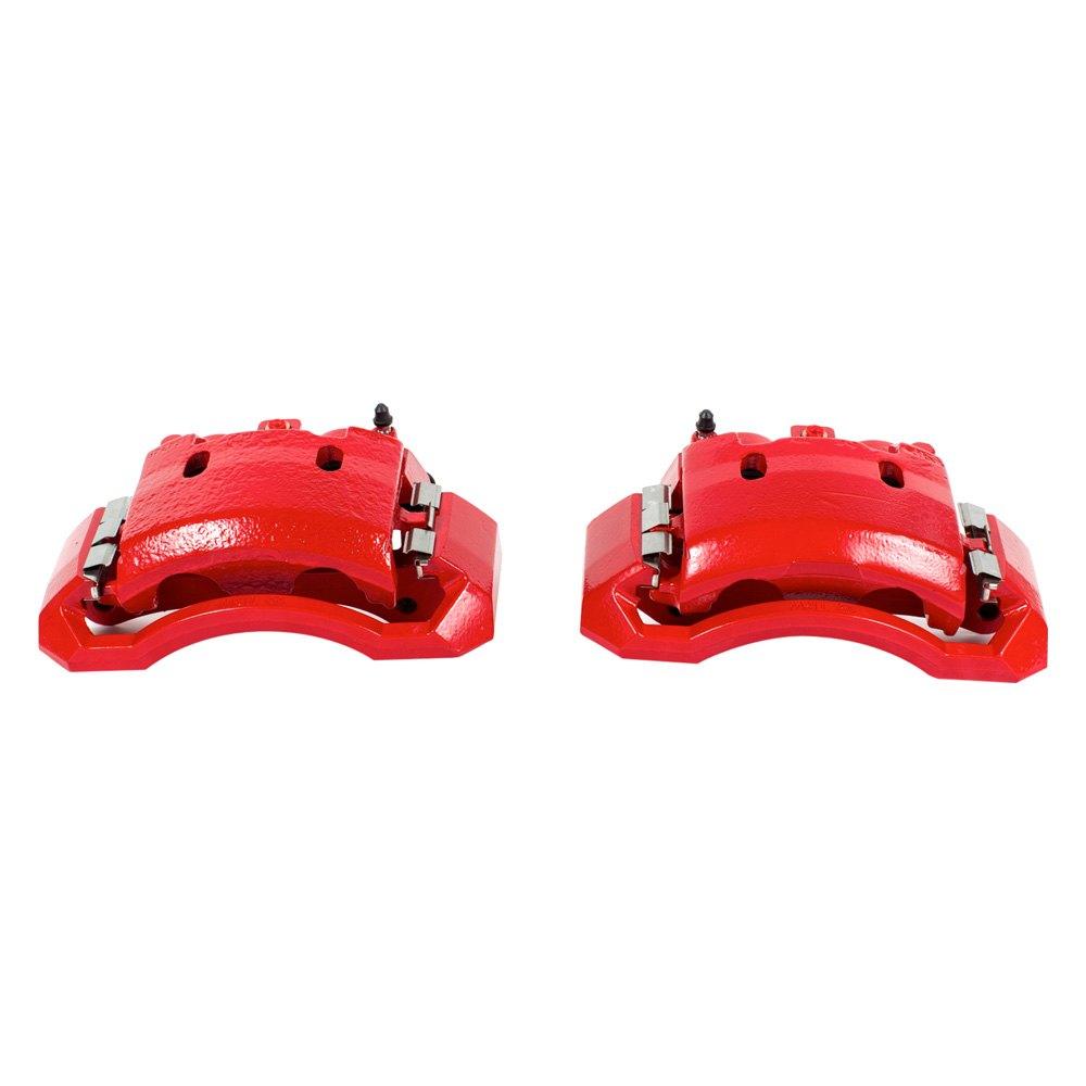 Performance Brake Calipers : Power stop dodge ram performance floating brake