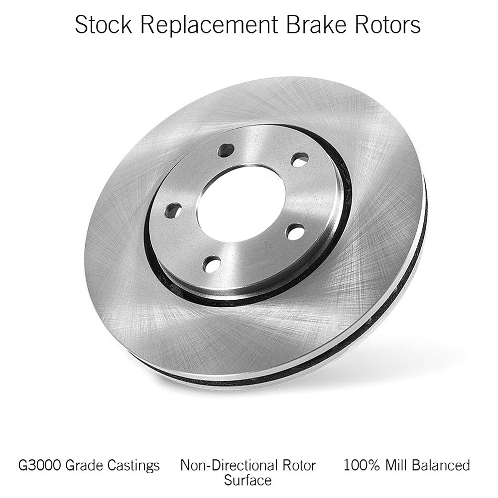 Power Stop EBR1007 Autospeciality Stock Replacement Rear Brake Rotor