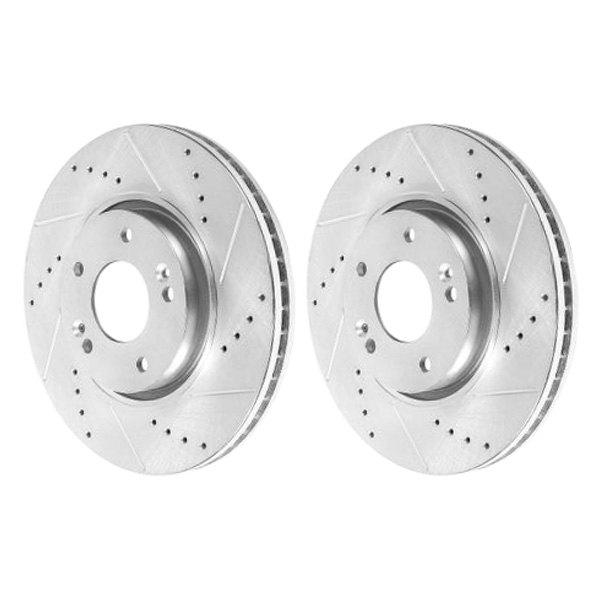 For Kia Sportage 12 16 Brake Rotors Power Stop Evolution