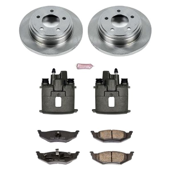 1-Click OE Replacement Brake Kit Power Stop KOE1693 Autospecialty