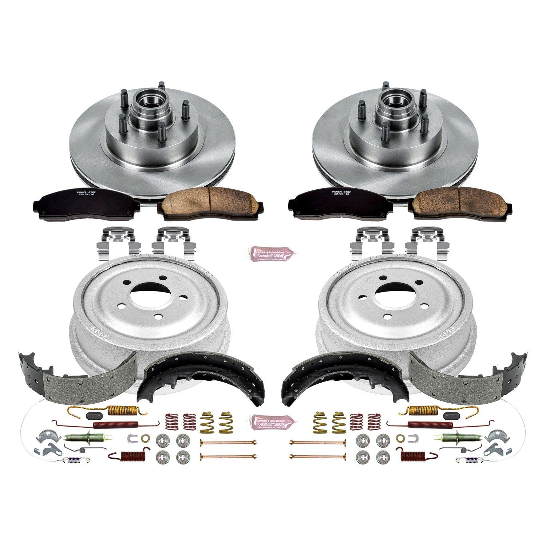 power stop ford ranger 2004 1 click autospecialty brake kit. Black Bedroom Furniture Sets. Home Design Ideas
