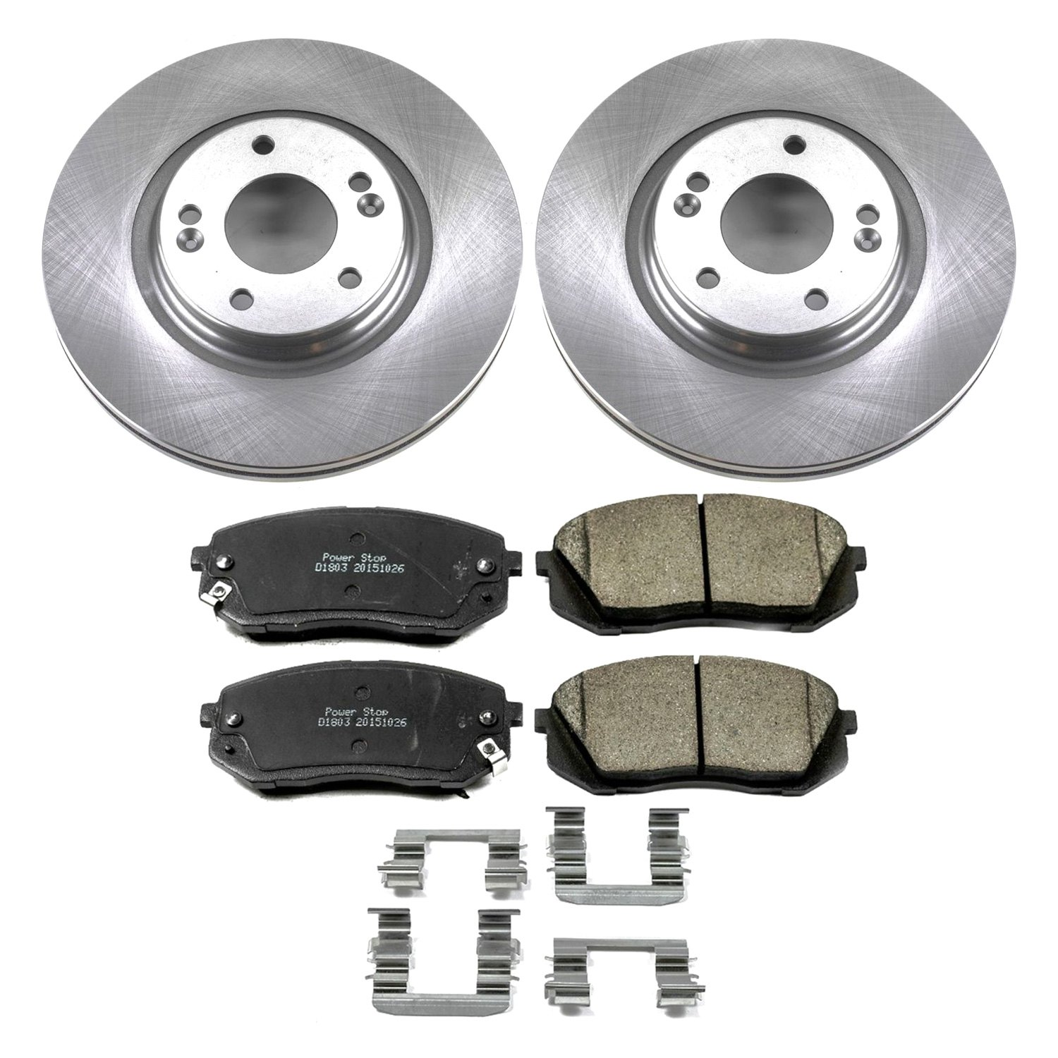 Prime Choice Auto Parts HB613317PR Two Front Wheel Hub Bearing Assembly Pair Set For Left Driver and Right Passenger