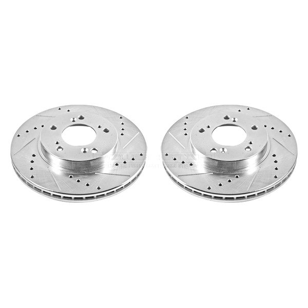 Powerstop jbr528xpr acura integra 1998 vented drilled and slotted front rotors