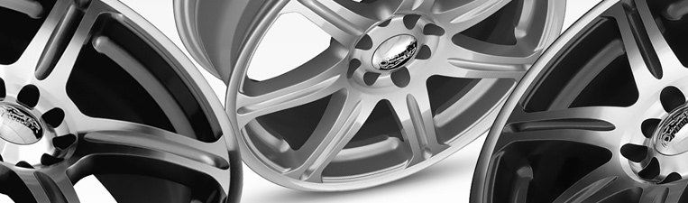 Primax 773 Wheels Black With Machined Face Rims