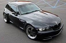 PRIVAT® - LEGENDE Matte Graphite with Machined Lip on BMW Z3
