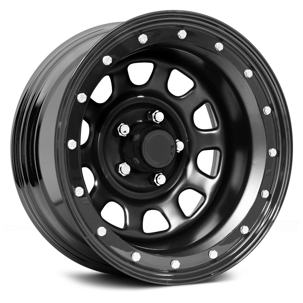 Pro Comp 174 252 Series Wheels Steel Flat Black Powdercoat Rims