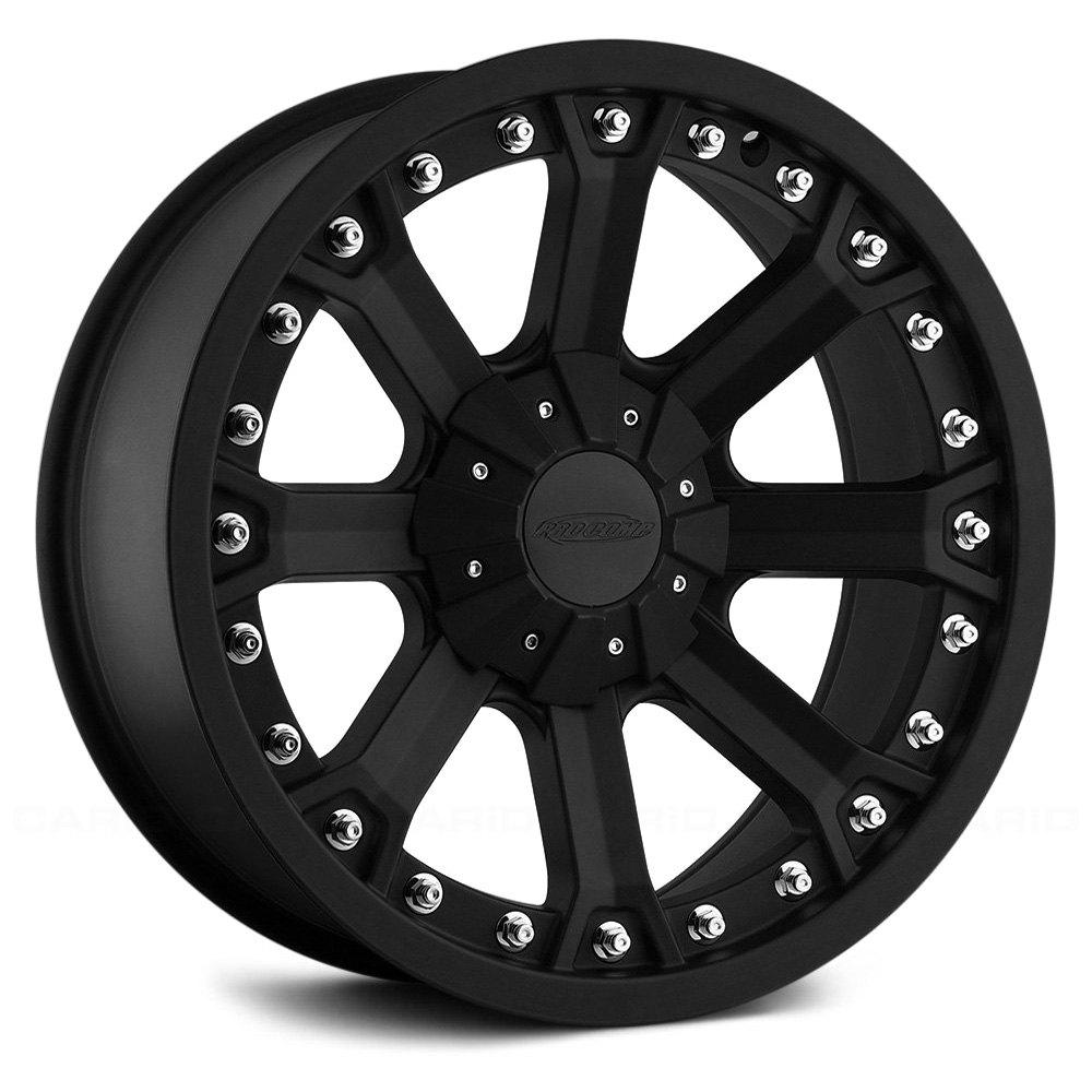 Pro Xpo Matte Black Cws: PRO COMP® 33 SERIES Wheels