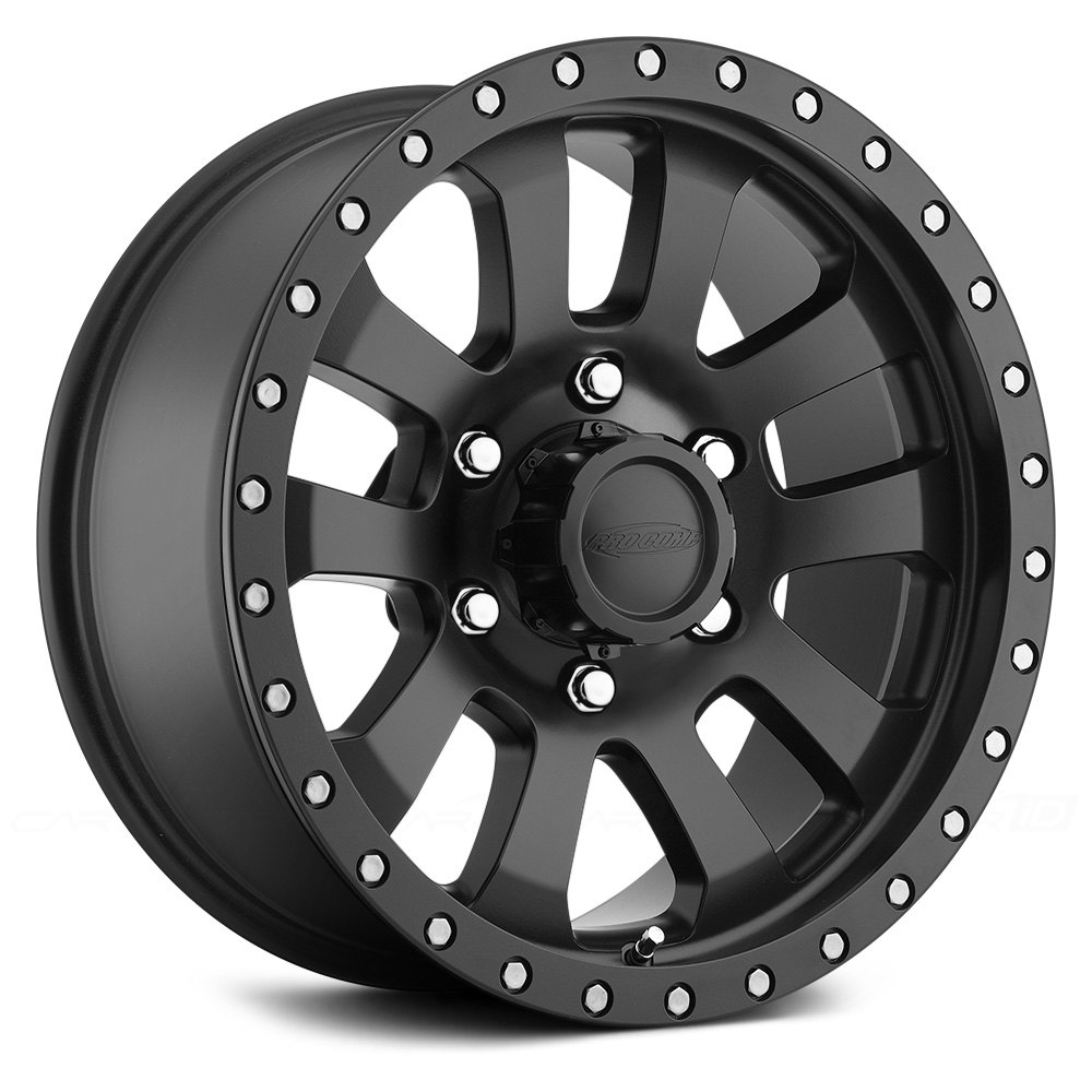 Pro Xpo Matte Black Cws: Pro Comp 36 SERIES HELLDORADO Wheels 20x9.5 (-6, 6x135