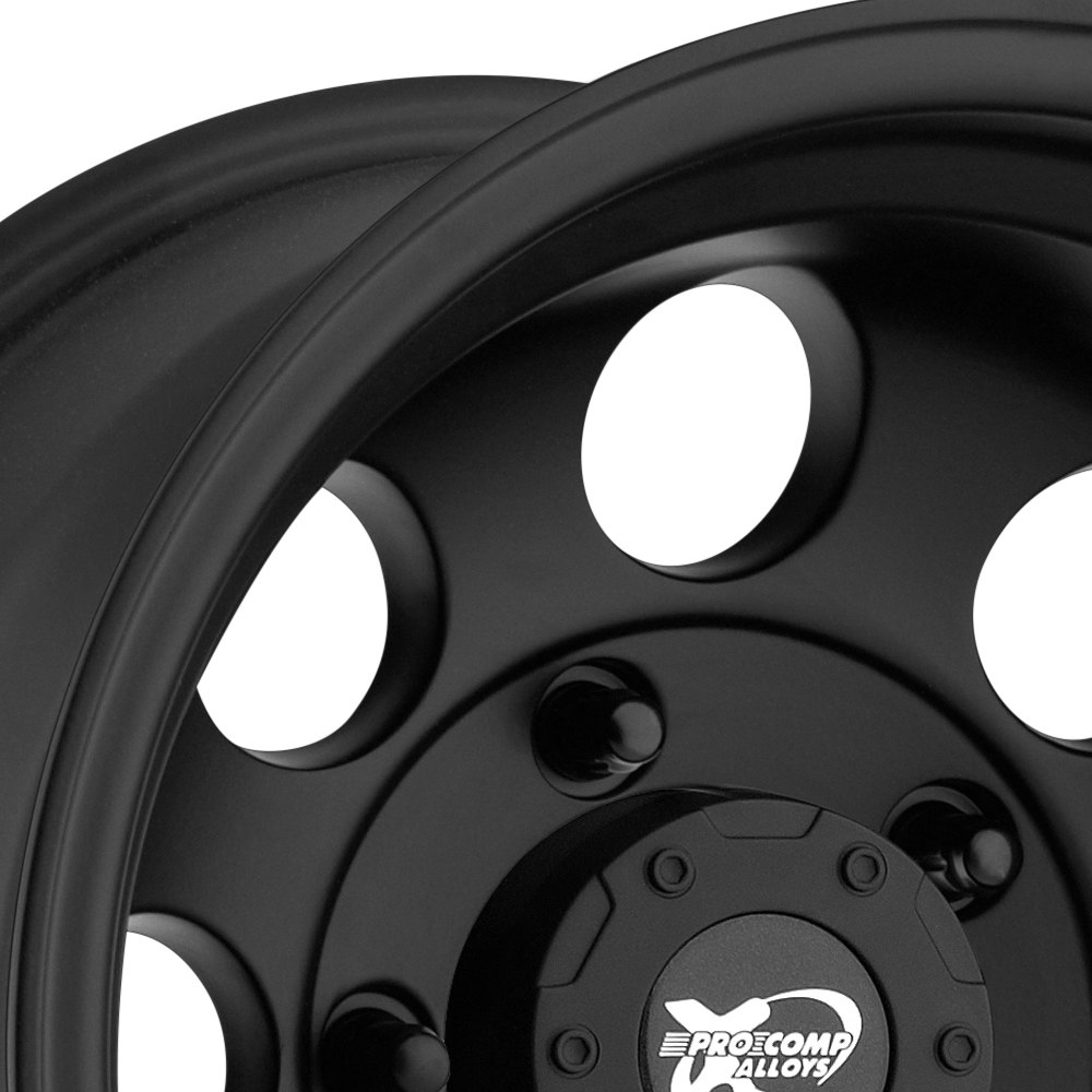 Pro Xpo Matte Black Cws: PRO COMP® 69 SERIES Wheels