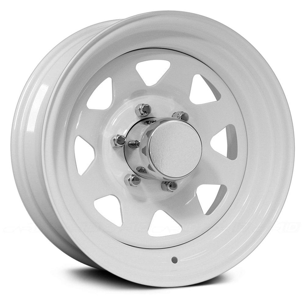 White Wheel Rims : Pro comp wheels white powdercoat rims