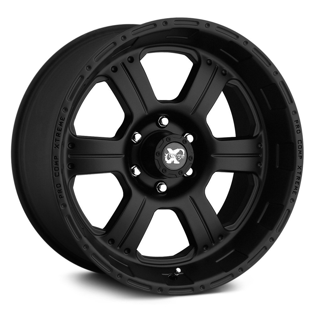 Pro Xpo Matte Black Cws: PRO COMP® 89 Wheels