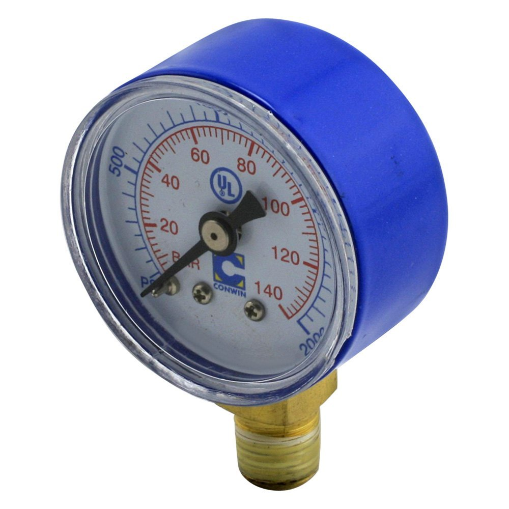 High Pressure Meter : Pro werks c quot diameter replacement high