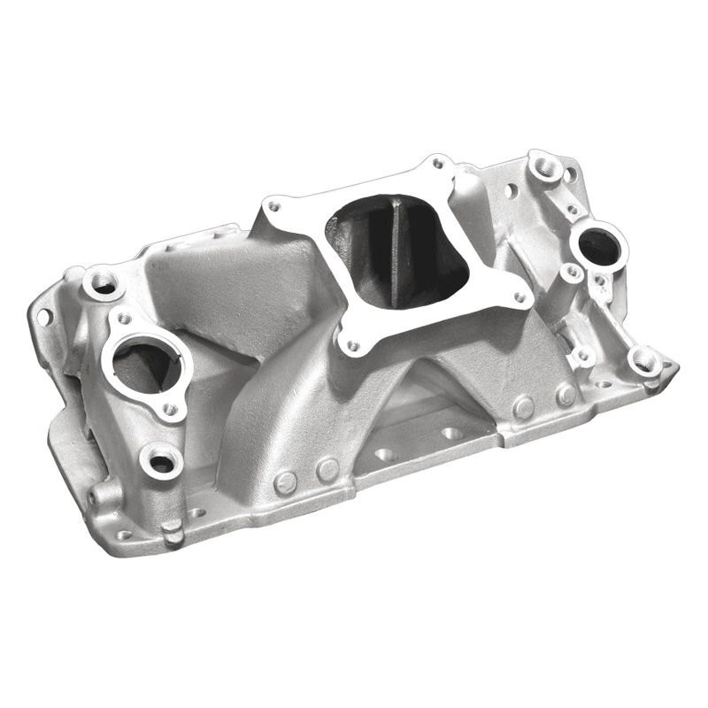 Professional Products 52030 Polished Hurricane Intake Manifold for Small Block Chevy