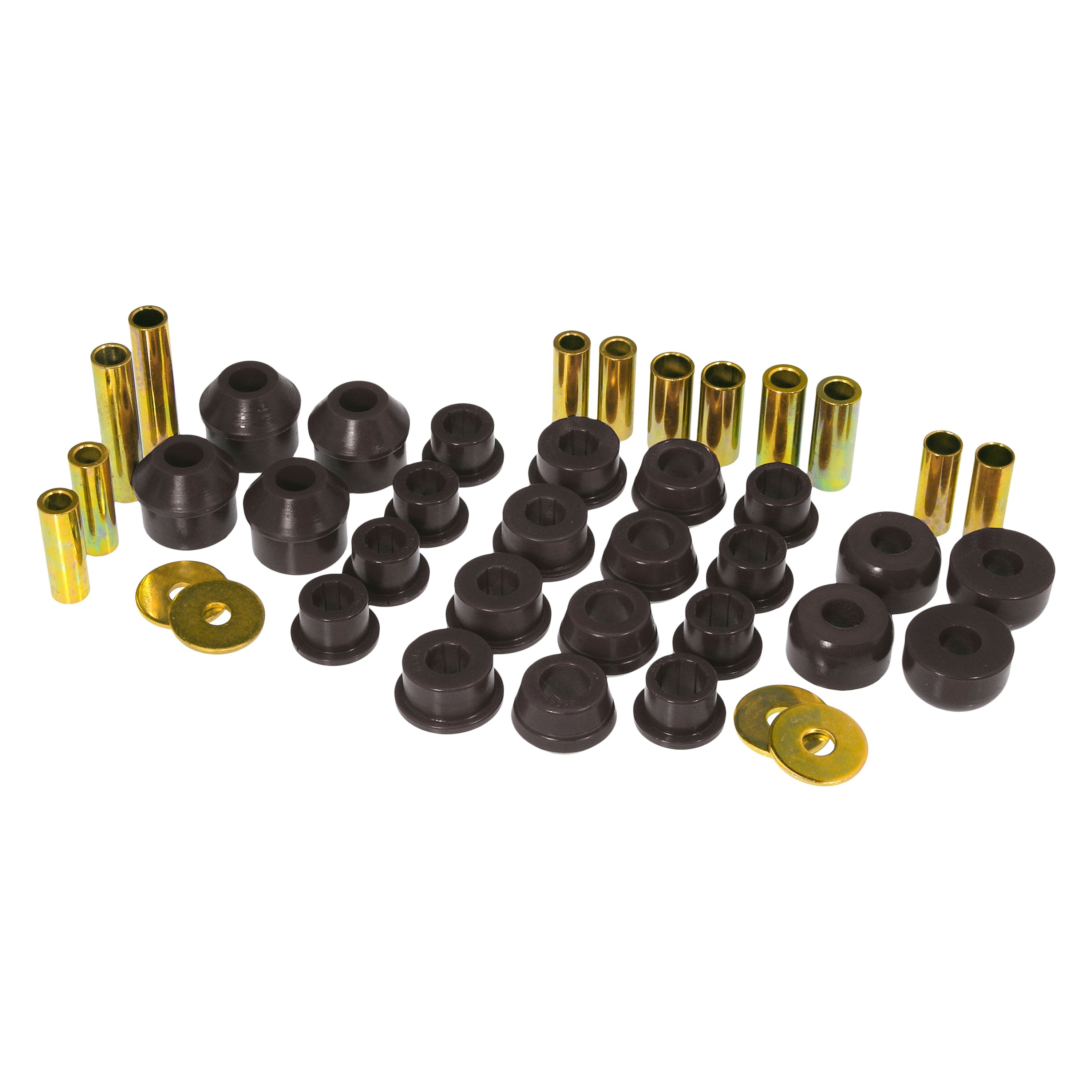 Prothane 18-303-BL Black Rear Control Arm Bushing Kit with Strut Rod Bushing