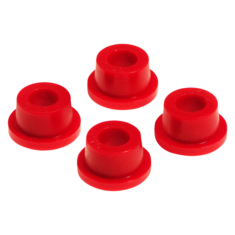 Silver Hose /& Stainless Red Banjos Pro Braking PBR9363-SIL-RED Rear Braided Brake Line