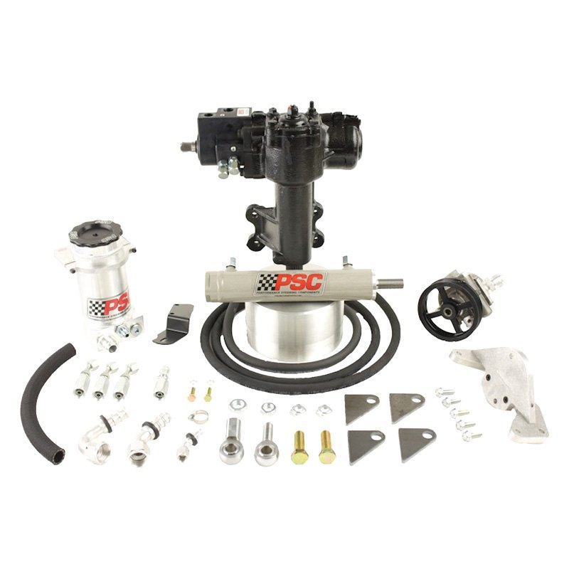 Hydraulic Assist Cylinders : Psc motorsports jeep wrangler with dana front axle