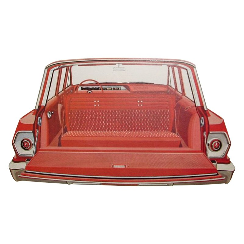 Pui Interiors Chevy Impala 4 Door Wagon 1964 Cargo Area Covers Kit