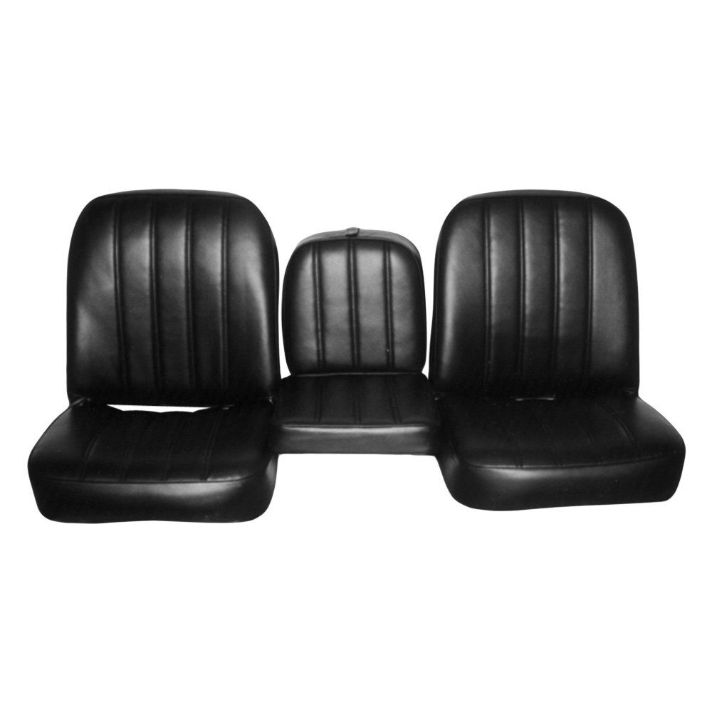 Bucket Seat Covers >> For Chevy C10 Pickup 67-68 PUI Interiors 67TS10U Front ...
