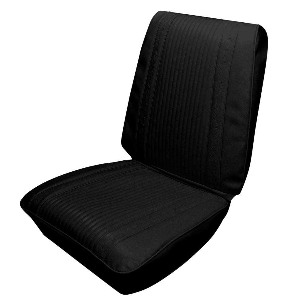 pui interiors 66ksr10u front black cologne grain vinyl. Black Bedroom Furniture Sets. Home Design Ideas