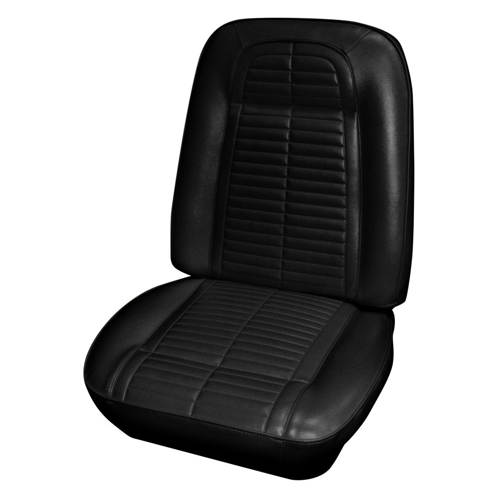 for pontiac firebird 67 68 seat cover front black madrid. Black Bedroom Furniture Sets. Home Design Ideas