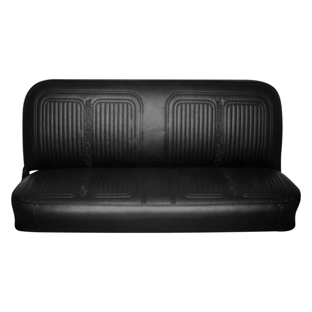 Sensational Details About For Chevy C10 Pickup 69 70 Front Black Walrus Grain Vinyl Bench Seat Cover Theyellowbook Wood Chair Design Ideas Theyellowbookinfo