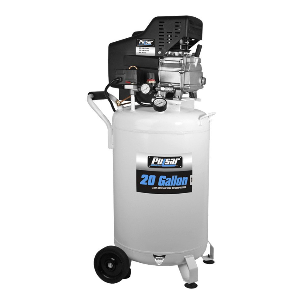 Pulsar 174 Pce6200 20 Gallon Vertical Air Compressor