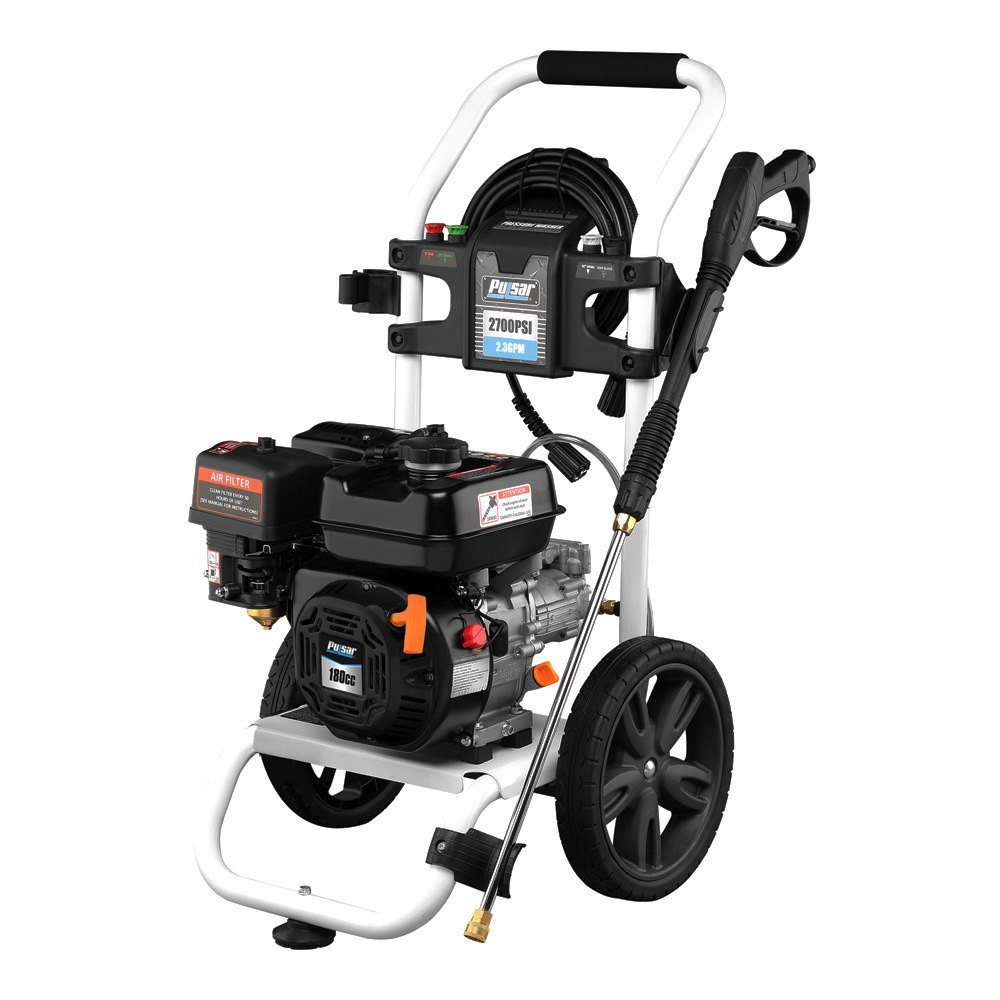 Pulsar 174 Pgpw2700h A 2700 Psi Gas Horizontal Pressure Washer