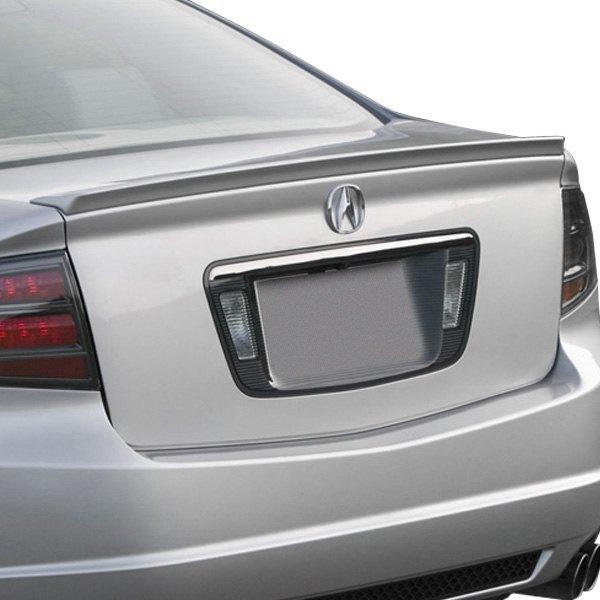 for acura tl 04 08 pure factory style rear lip spoiler unpainted ebay rh ebay com 2003 Acura TL Front Bumper 2003 Acura TL Custom