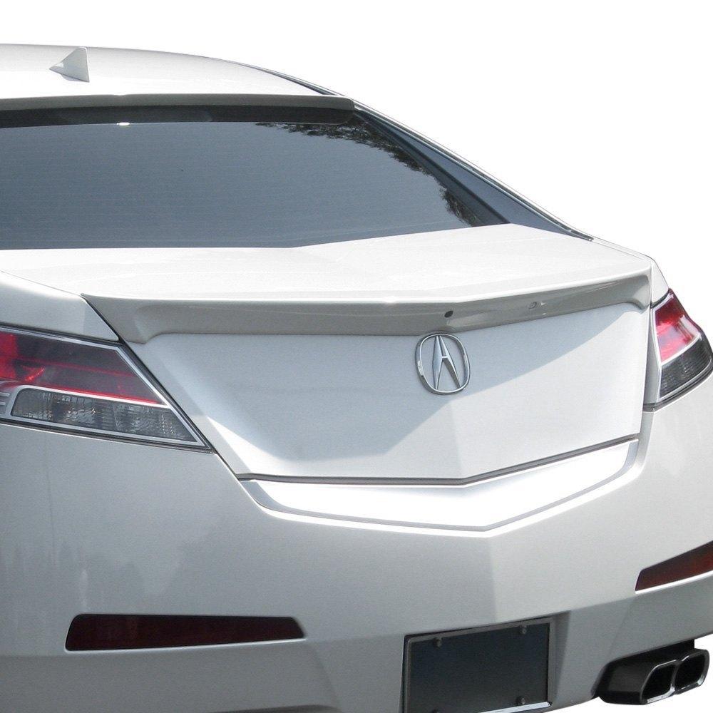 Pure Acura TL Factory Style Rear Lip Spoiler - Acura tl lip