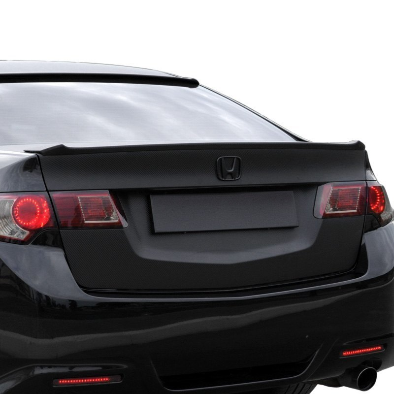 pure acura tsx 2011 factory style rear lip spoiler rh carid com Acura Integra Spoiler Acura Integra Spoiler