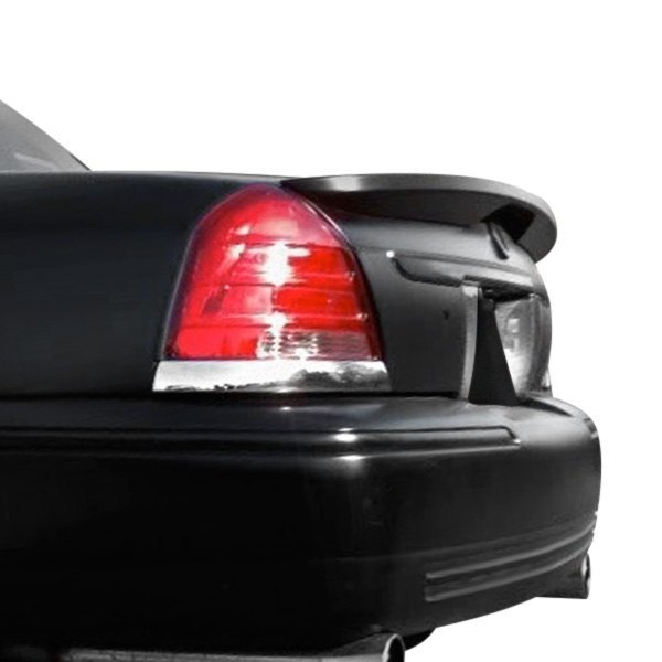 Details about For Ford Crown Victoria 98-11 Factory Style Flush Mount Rear  Spoiler Unpainted