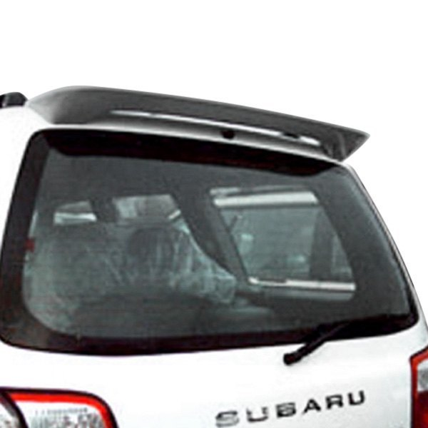 For Subaru Forester 03-08 Factory Style Fiberglass Rear Roof Spoiler Unpainted