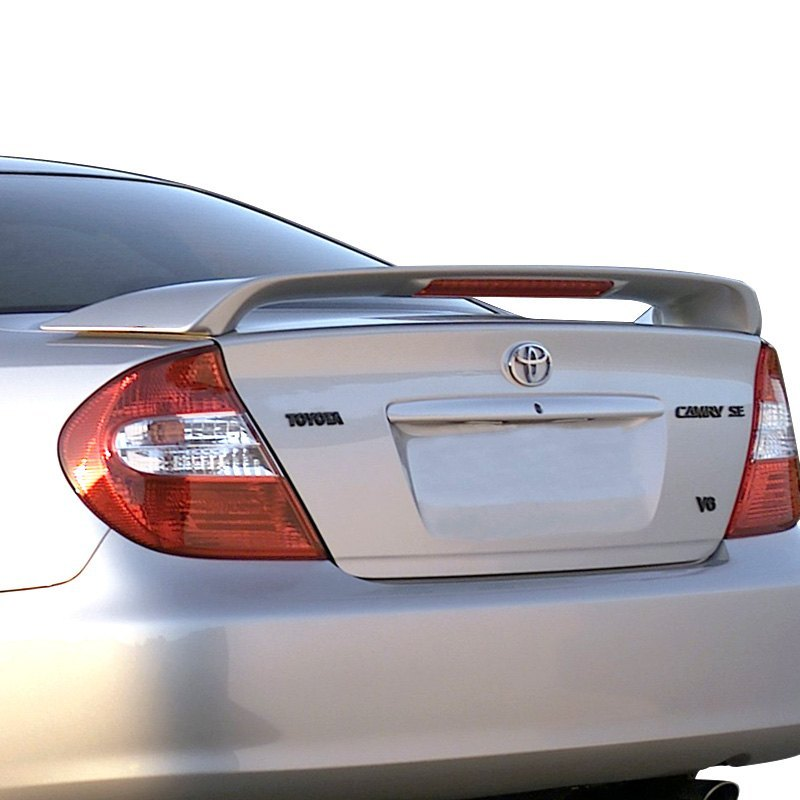 pure toyota camry 2006 factory style rear spoiler with light. Black Bedroom Furniture Sets. Home Design Ideas