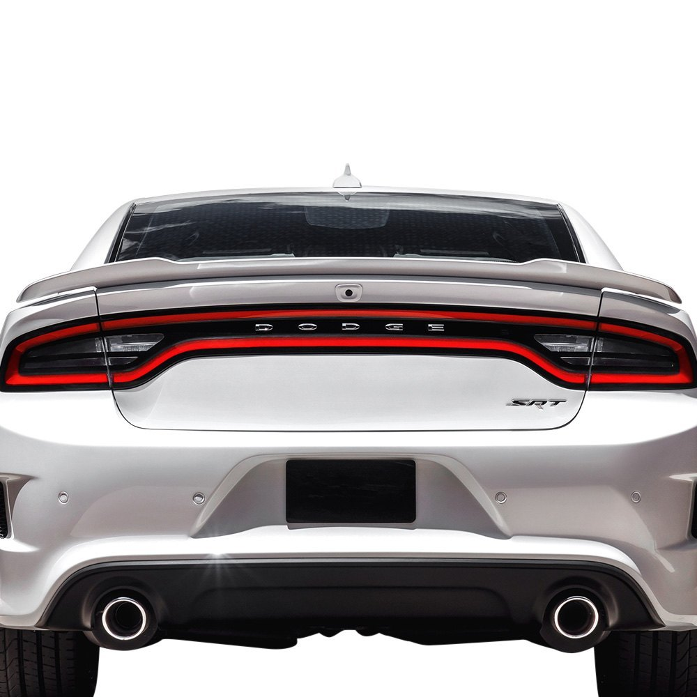 Pure Dodge Charger 2011 2017 Factory Hellcat Style Flush Mount Rear Spoiler