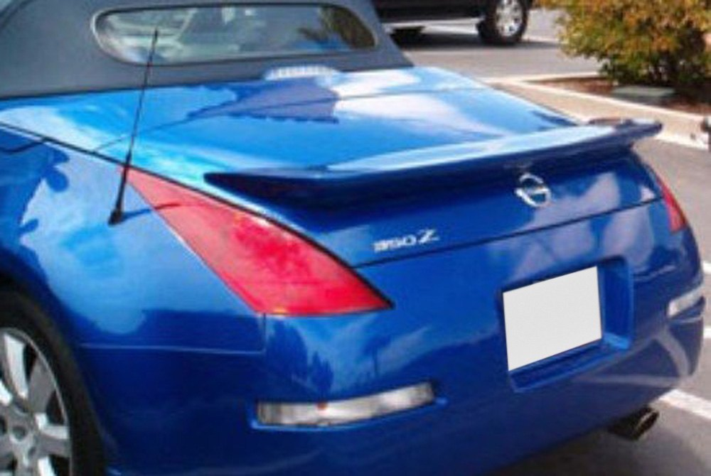 Pure Custom Style Rear Window Mount Spoiler Carid Com