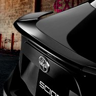 Pure® - Rear Spoiler on Scion FR-S