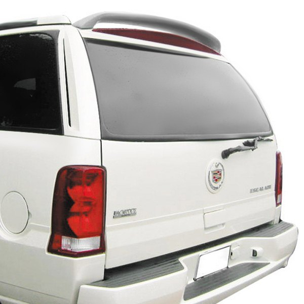 Pure 174 abs 502 painted custom style rear roof spoiler painted