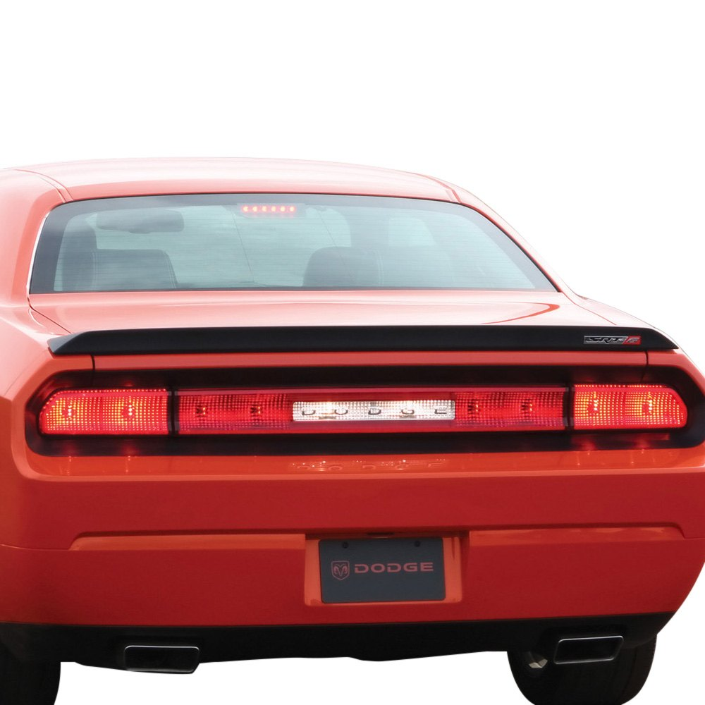 Pure Dodge Challenger 2008 2017 Factory Style Flush Mount Rear Lip Spoiler