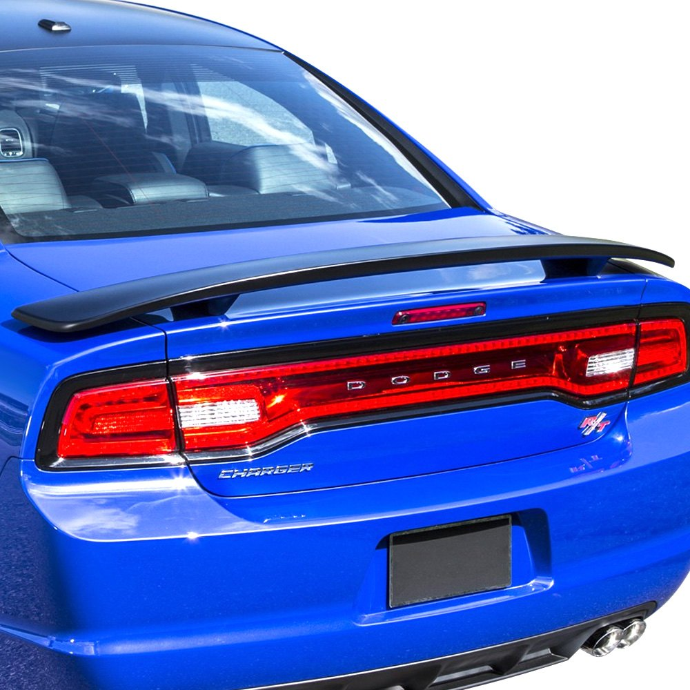 Pure Dodge Charger 2011 2015 Factory Style Rear Spoiler