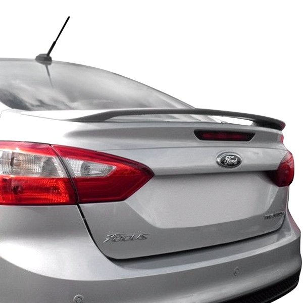 Pure Ford Focus 4 Doors 2012 2014 Factory Style Rear Spoiler