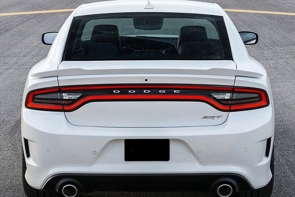 Pure Dodge Charger 2015 Factory Hellcat Style Flush Mount Rear Spoiler