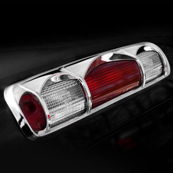 Third Brake Light Covers : Putco chrome rd brake light cover
