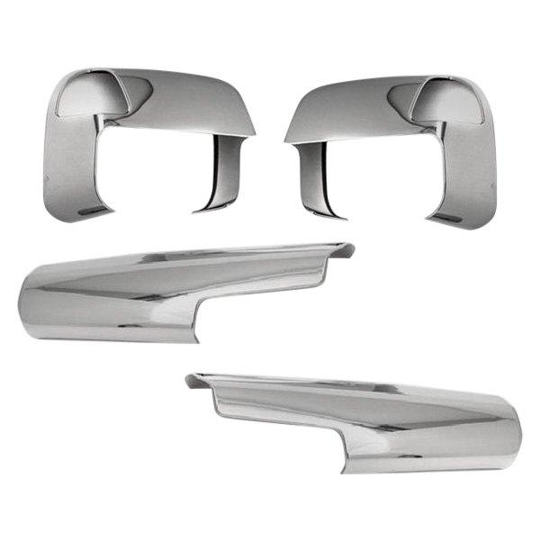 Dodge Ram Chrome Mirror Covers - Custom-Molded Chrome ...