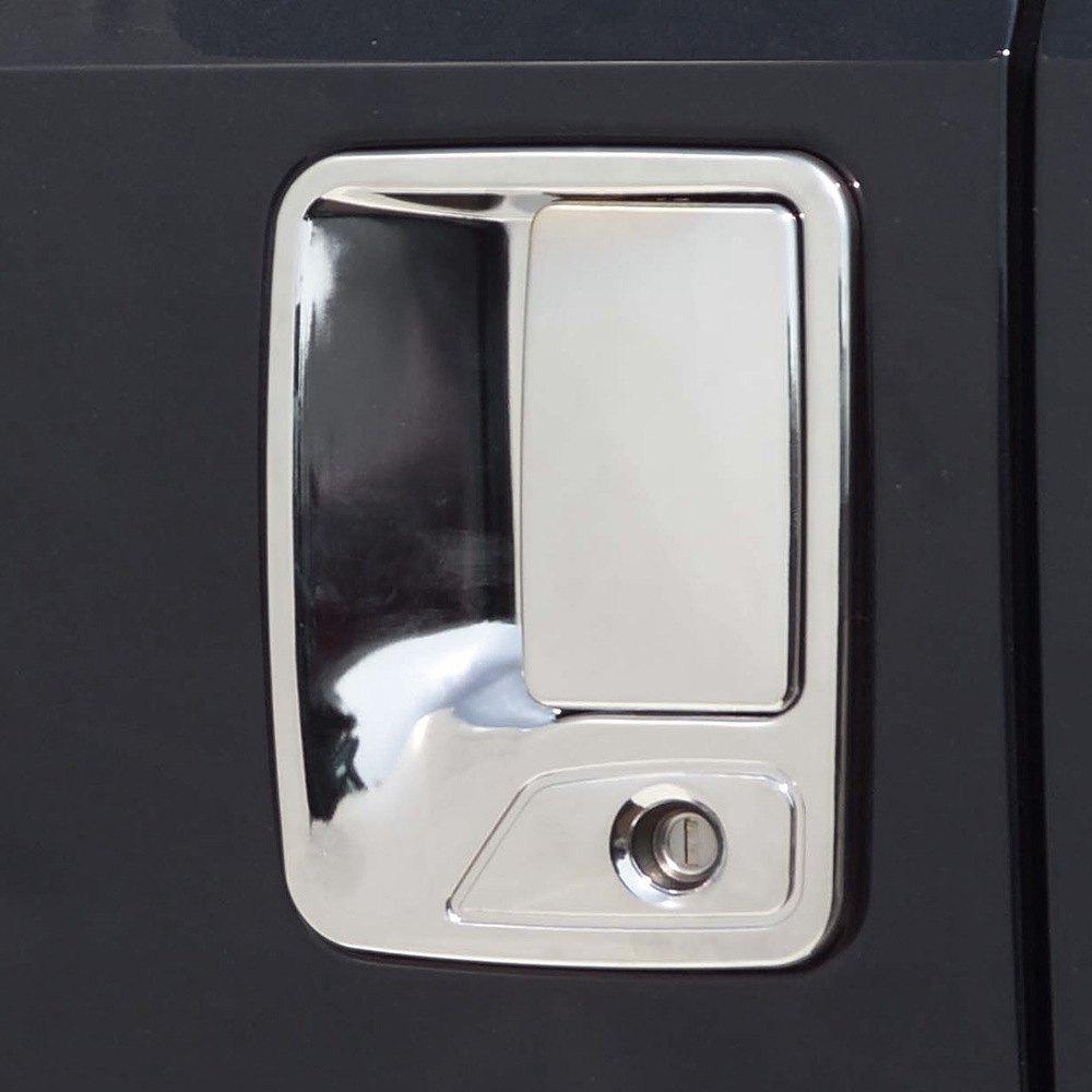 Putco 401013 chrome door handle covers for Door latch carid