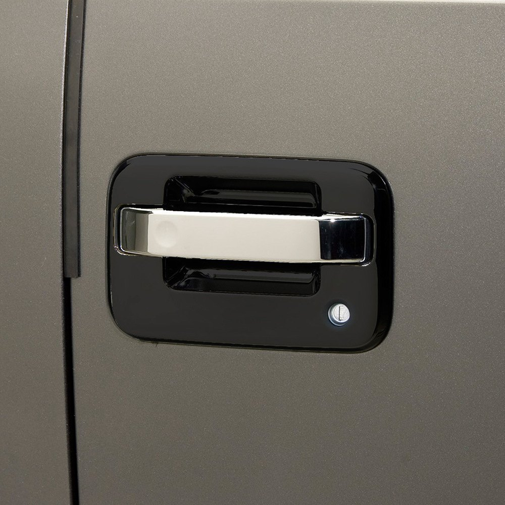 Putco 401018 chrome door handle lever covers for Door latch carid