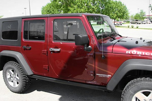 Putco 174 Jeep Wrangler 2007 Chrome Door Handle Covers