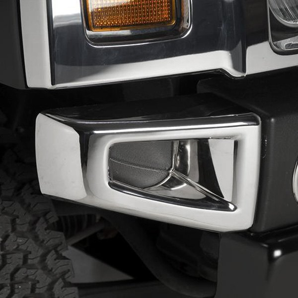 2007 Hummer H2 Exterior: Hummer H2 2007 Chrome Bumper Covers