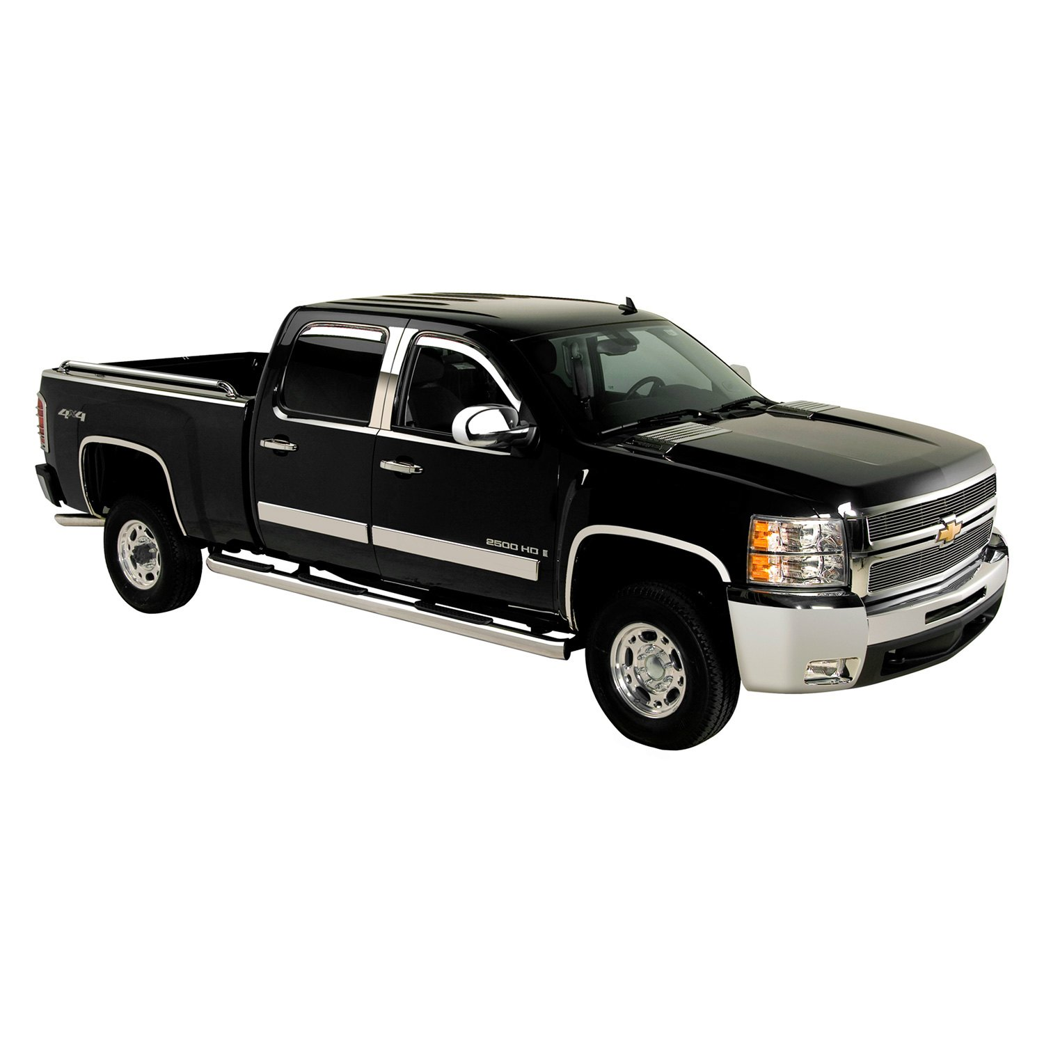 2009 chevy silverado chrome accessories trim at carid. Black Bedroom Furniture Sets. Home Design Ideas