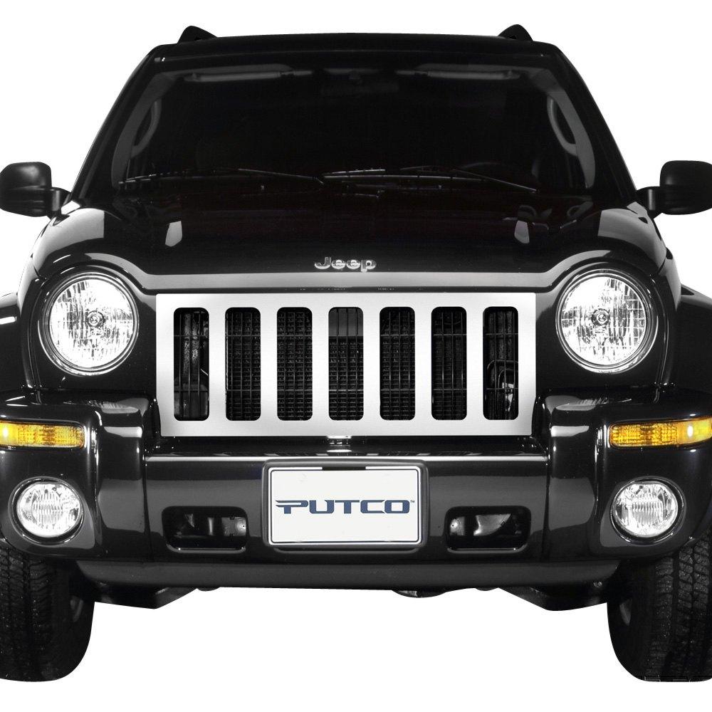 2002 Jeep Liberty Exterior: Jeep Liberty 2002-2004 Designer FX Grille