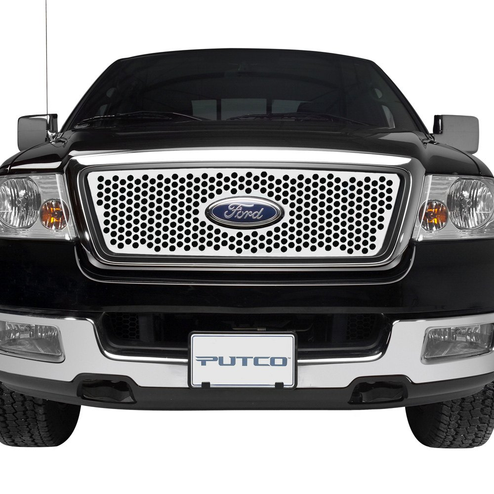 Putco punch stainless steel grille insert